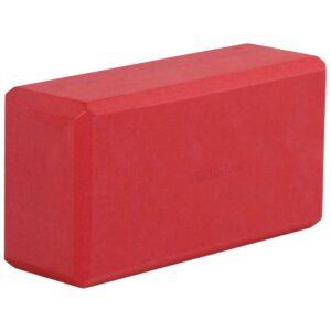 YOGA BLOCK -YOGIBLOCK 'BASIC' RED
