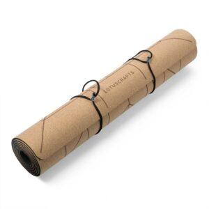 Στρώμα YOGA φελλού - CORK ALIGN + δώρο ιμάντας μεταφοράς