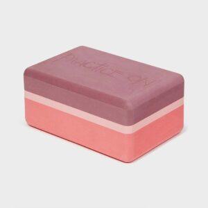 Recycled Foam Yoga Block (Clay)