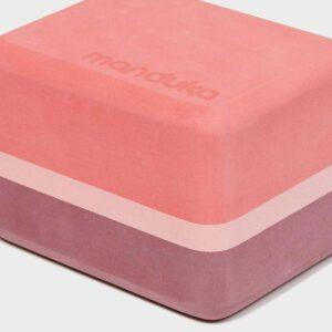Recycled Foam Yoga Mini Block (Clay)