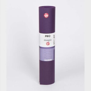 "Manduka Pro™ Yoga Mat 6mm Black Magic (Purple) / Long 85"" (215cm)"