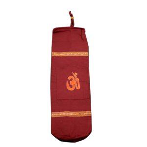 Τσάντα YOGA AUM (BIG) Μπορντώ | Gokotta.gr - Yoga Pilates