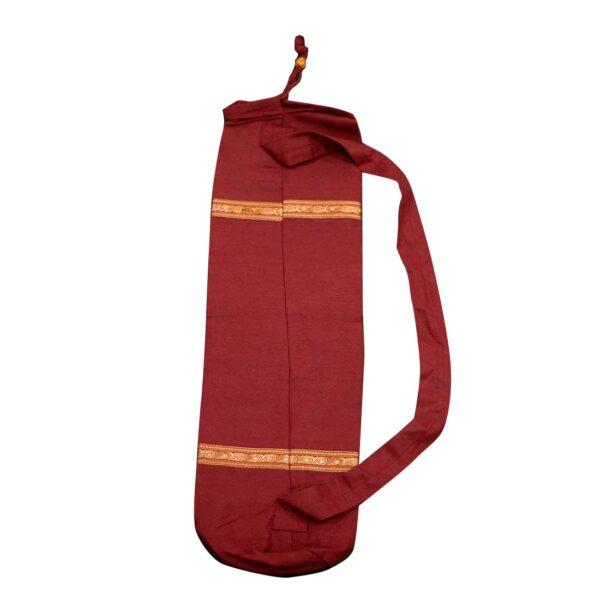 Τσάντα YOGA AUM (BIG) Μπορντώ   Gokotta.gr - Yoga Pilates