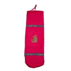 Τσάντα YOGA AUM (BIG) Φουξ