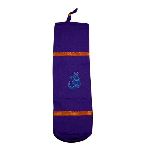 Τσάντα YOGA AUM (BIG) Μωβ   Gokotta.gr - Yoga Pilates