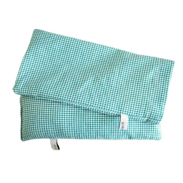 Eye Pillow - Μαξιλάρι ματιών σε θήκη, από οργανικό βαμβάκι, ενισχυμένο με οργανική λεβάντα