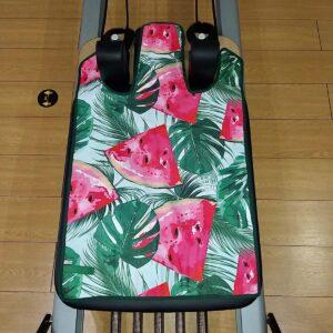 Πετσέτα Pilates Reformer με σχέδια + extra πετσέτα Wunda Chair